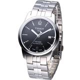 TISSOT 天梭 PR100 時尚經典 機械錶 T0494071105700金屬帶款/黑色