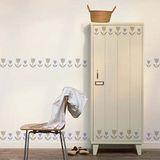 【ORIENTAL高品質進口壁貼】Tulip 家飾裝潢無痕系列