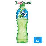 舒跑運動飲料寶特瓶590ml*4入