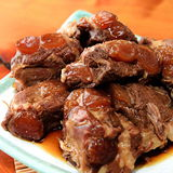 【新興四六一小吃店】紅燒軟骨肉2份(500G家庭號)含運