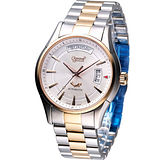 Ogival 愛其華 巴黎時尚機械錶3357AMSR雙色款