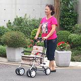 MIT銀髮族散步車/步行輔助車/購物車 外銷韓國《F238》