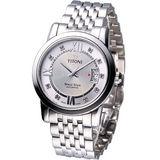 TITONI Spacestar 世紀之星 紳士機械錶 83738S-362/銀白色