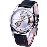 HAMILTON JazzMaster 經典鏤空 機械錶 H32565555 銀白色
