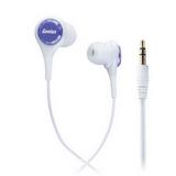 Genius GHP-240X 抗噪密閉型內耳式耳機(紫玫瑰)