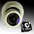 CAMVID SHARP晶片21顆LED燈紅外線CCD半球型監視器(MB-B52DRF)