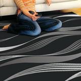 【范登伯格】戰神☆手工立體剪花地毯-水波紋-200x290cm