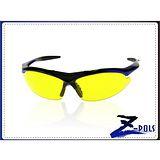 【視鼎Z-POLS旗艦系列】PC防爆增光黃 頂級黑藍漸烤漆 TR超彈性舒適材質 UV4運動眼鏡,全新上市