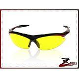 【視鼎Z-POLS旗艦系列】PC防爆增光黃 頂級黑紅漸烤漆 TR超彈性舒適材質 UV4運動眼鏡,全新上市