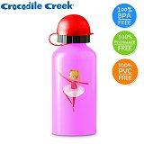 【美國Crocodile Creek】環保兒童不鏽鋼水瓶-芭蕾舞伶