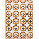 《DQ》Pass 旅遊趣護照夾(飛機)