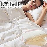 義大利La Belle《經典純色-防蹣抗菌暖冬舒眠枕被三件組》抗菌雙人冬被+抗菌壓縮枕二入