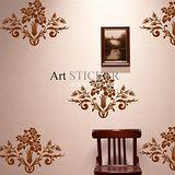 Art STICKER璧貼 。 Flower pattern - B (F020)