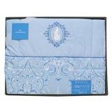 WEDGWOOD 童話魔鏡公主水藍羽絨被禮盒