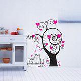 Art STICKER壁貼 。 許願樹韓式壁貼 (W024)