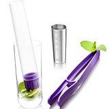 《VACU VIN》Muddler 3in1 量杯榨器組(紫)