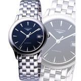 LONGINES Flagship 經典機械腕錶(L47744526)-黑