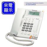 《Panasonic》 多功能來電顯示有線電話 KX-TS880 (時尚白)