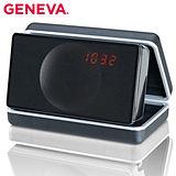 Geneva 攜帶式鬧鐘收音機(Model XS-鋼烤黑)