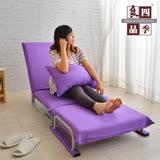 【限時下殺】四季良品紫色嘉年華單人沙發床/椅
