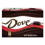 德芙香濃黑巧克力96g