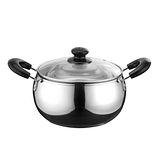 《鍋寶》 鍋寶20CM不鏽鋼精品調理湯鍋(附密封蓋) SS-620QX