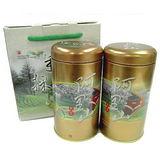 【高山烏龍茶】阿里山烏龍茶禮盒(4兩x2入)