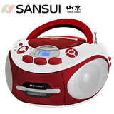 年終盛典 SANSUI山水CD/MP3/USB/SD/AUX/卡帶手提式音響(SC-85C)