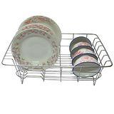 【純不鏽鋼】廚房-碗盤架/瀝水架/滴水籃(二入裝)