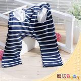(購物車)魔法Baby ~韓版條紋圓口袋哈倫垮褲~小潮男女童裝~時尚設計童裝~k23756