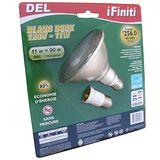 【未來之光】LED11W-Par燈-燈泡-附一個E27加長頭-黃光-1入組/1盒透明包裝