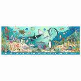 美國 Melissa & Doug 大型地板拼圖 - 找找看海底動物【48 片】- 特大尺寸,成就感加倍