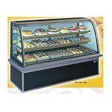 【冷藏4℃蛋糕櫃】6尺 冷藏蛋糕櫃(圓玻美耐板) C-106PRA