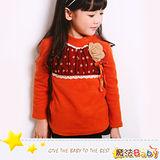 (購物車)魔法Baby~拼點點針織花雪紡上衣~DODOMO系列~時尚設計童裝~k26047