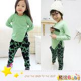 (購物車)魔法Baby~韓版潮爆哈密瓜網紋套裝~套裝~男女童裝~時尚設計童裝~k25972
