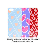 Uniea Madly in Love Series for iPhone 5 手繪彩殼保護殼