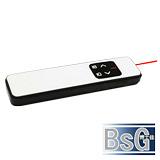 博士佳BsG A208R-2A 白晶璀璨靚美系列紅光鐳射簡報筆