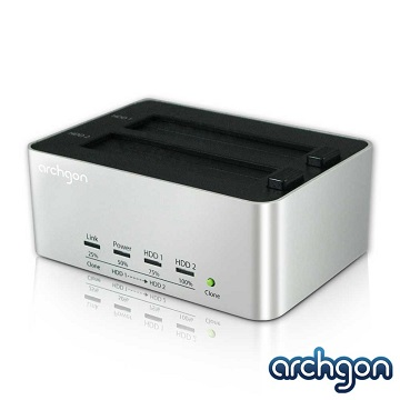 archgon亞齊慷 MH-3621 USB3.0 雙SATA硬碟外接座Docking Station