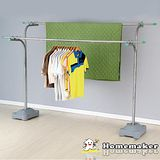 【Homemaker】優質不鏽鋼重型超大容量曬衣架