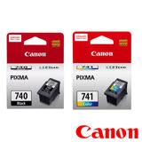 Canon PG-740+CL-741 原廠墨水組合 (1黑+1彩)