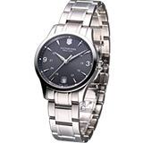 Victorinox Alliance 聯盟系列 簡約時尚錶(VISA-241540)灰黑色