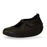 METAFIT 時尚健康鞋-娃娃鞋系列-MJ1-全黑