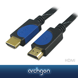 archgon亞齊慷 HDMI A公–A公 1.3版 (Full HD 1080P) 高畫質影音傳輸線 1.5M (網狀編織)