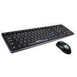 NAKAY《黑俠快手》PS2鍵盤USB光學滑鼠組 (NBM-145)
