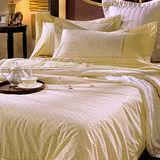 《SHINEE》富貴庭園 雙人活性印染精梳棉四件式涼被床包組
