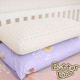 【奶油獅】正版授權-成人專用~馬來西亞進口100%純天然乳膠麵包枕-幻紫