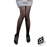 GLANZ格藍絲 日系甜美辛辣造型顯瘦透膚襪-復古圓點
