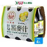 崇德發檸檬黑麥汁330ml*24入/箱