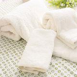 【MORINO摩力諾】天然無毒-有機棉原色方巾