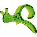 《KOZIOL》松鼠柑橘剝皮器(透綠)